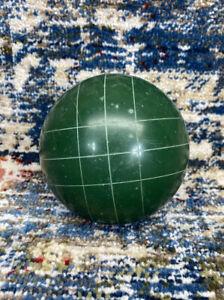 """Eddie Bauer Stripe Green Bocce Ball Replacement 4"""" Vintage"""