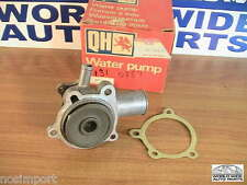 Ford Mercury Capri 2000 New Water Pump 3-outlets Aluminum  1971-1974