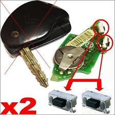 2x Edge Switch Button Citroen Xsara Picasso Berlingo Saxo Xantia Remote Key Fob