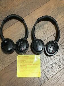 💥 OEM 2014-2019 Nissan Infiniti DVD Entertainment 2 Wireless Headphones Genuine