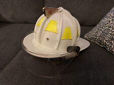 Cairns Leather Fire Helmet- 1992- Mint Condition