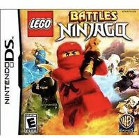 Lego Ninjago Battles - Nintendo DS/3ds Kids Game