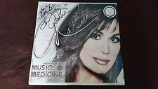 New Marie Osmond Music Is Medicine LP Vinyl Autographed Exclusive Edition Donny