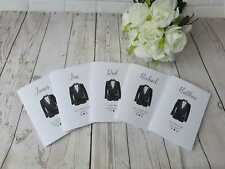 Will you be my Best Man Card / Usher Page boy Card Personalised Wedding proposal