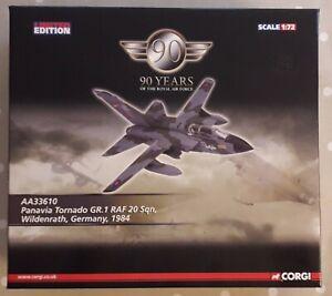 CORGI Aviation Archive Panavia Tornado GR.1 RAF Wildenrath Germany 1:72  AA33610