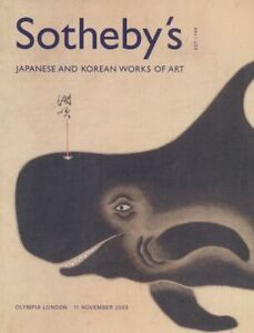 Sotheby's Olympia London Japanese and Korean Works of Art 11/11/2003  HB