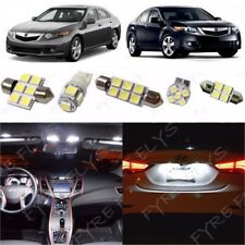 14x White LED lights interior package Kit for 2009-2014 Acura TSX +Tool AT1W