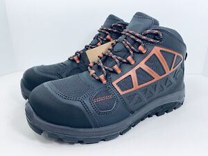 """Red Wing Fuse FX 5"""" Waterproof Safety Toe Hiker Work Boots Gray Mens Size 9 D"""