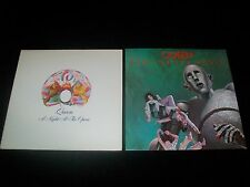"QUEEN - ""NIGHT AT THE OPERA"" & ""NEWS OF THE WORLD"" - 1970'S PRESSINGS EX/NMT"