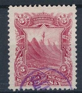 [35849] Nicaragua 1893 God stamp Very Fine used