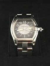 CARTIER 2510 Men's Roadster Stainless Steel Wristwatch Pre-Owned