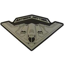 USAF B 2 Spirit Strategic Stealth Bomber Anywhere Anytime Morale PVC Rubber 3d