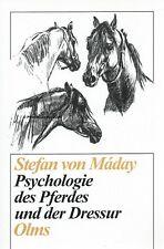 Stefan von Máday: Psychologie des Pferdes und der Dressur - Olms Verlag NEU