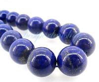 Lapislazuli Perlen 8mm Rund Natur Edelstein Schmucksteine Lapis Lazuli G427