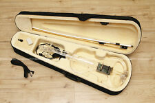 NEW Transparent 4/4 Electric Violin Electric Silent Violin +Case Bow FREE c6