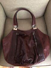 b makowsky leather handbag hobo