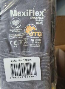 "MaxiFlex ""Endurance"" 34-844 Nylon-Strickhandschuhe Arbeitshandschuhe Gr. 10 (XL)"