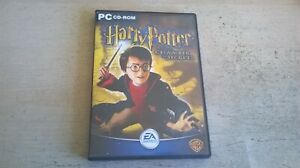 HARRY POTTER AND THE CHAMBER OF SECRETS - PC GAME - COMPLETE WITH BOTH MANUALS