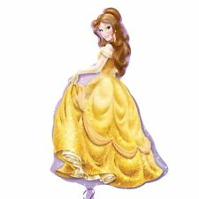 "32"" Disney Princess Belle Birthday Party SuperShape Mylar Foil Balloon"