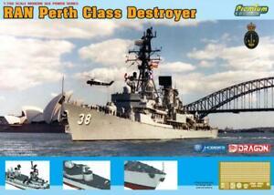 Dragon 7146 1/700 RAN HMAS Perth D-38 Plastic Model Kit *AUS decal*