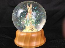 Beatrix Potter Crystal Snow Globe peter Rabbit First Limited Edition