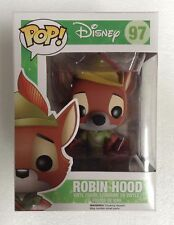 Disney - Robin Hood (the Fox) Pop! Vinyl Figure #97 NEW Funko rare