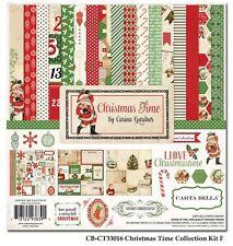 "CARTA BELLA ""CHRISTMAS TIME"" 12X12 PAPER PACK  SANTA  SCRAPJACK'S PLACE"