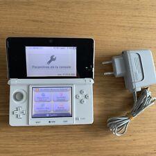 Console Nintendo 3ds Blanc arctique Avec Chargeur Officiel - Fonctionne Bien