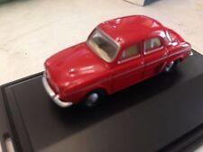 Nice 1/76 Renault Dauphine Red Oxford Diecast Swansea Wales