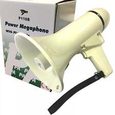 Eagle 10w Loud Pistol Grip Megaphone with Volume Control 600m Range Projection