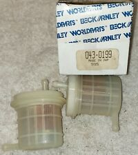 Beck Arnley 043-0199 Fuel Filter Early Carbureted Honda Civic 5 Pieces