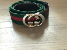 SUPER AUTH MENS VINTAGE GUCCI GG BELT
