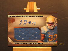 2013 SPx #58 Johnathan Franklin JSY AU SN 439/475