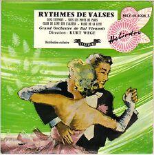 "KURT WEGE ""RYTHMES DE VALSES"" 50'S EP HELIODOR 45-4006"