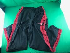 VTG 80's Nike Air Jordan Mens Black Athletic Windbreaker Pants Large XL