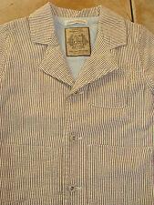 Boys Designer MINIMAN Impressive Smart Striped Jacket 3-4 Years (Worn Once)
