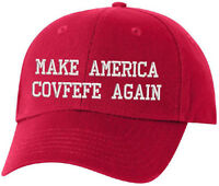 Make America COVFEFE Again Trump Twitter Hat - MAGA Donal Trump Adjustable Hat