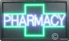 QUALITY  FLASHING  PHARMACY chemist led new shop signs