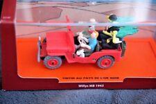 TINTIN MODEL CAR (DIECAST), WILLYS MB 1943 (JEEP): LAND BLACK GOLD. BNIB!