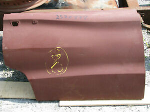 Mopar NOS 1966-67 Dodge Coronet 4 Door & Wagon Right Hand Rear Door Skin 2570878