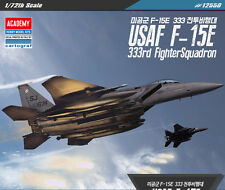 1/72 Scale USAF F-15E 333rd Fighter Squadron #12550 ACADEMY MODEL HOBBY KITS