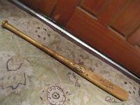 Bobby Bonds Game Used Autographed Baseball Bat Heavy Use