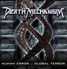 DEATH MECHANISM Human Error CD 11 trks FACTORY SEALED NEW 2008 Morbid Tales Bra