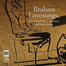 J rgen Meier, Brahms, Chamber Choir of Europe - Brahms Lovesongs [New CD] Digipa