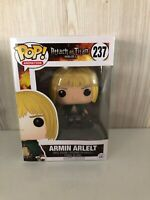 Animation Attack On Titan Armin Arlelt # 237 Funko Pop Vinyl