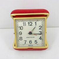 Vintage Westclox Travel Alarm Clock Spares &/Or Repairs Restoration