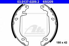 Bremsbackensatz für Bremsanlage Hinterachse ATE 03.0137-0209.2