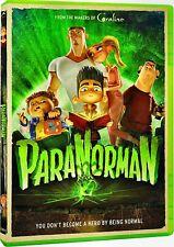 NEW DVD - PARANORMAN  -  Casey Affleck, Kodi Smit-McPhee, Tucker Albrizzi, Anna