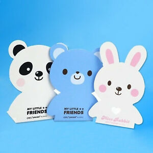 Unique Cute metal deco bookends pair book modern cast iron kid Rabbit panda bear