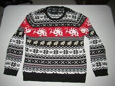 Rare World Of Warcraft Blizzard Murloc Men's Ugly Christmas Sweater Size 3XL